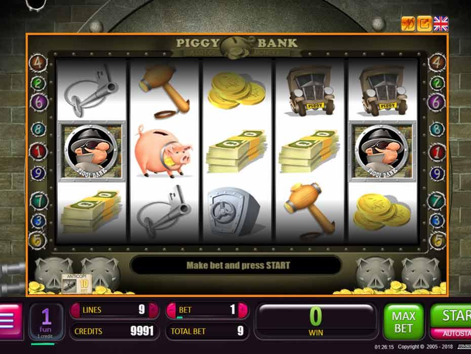 Играть автоматы игровые piggy bank игровые автоматы скачать бесплатно на компьютер без интернета